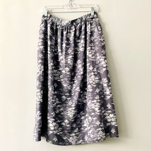 Pendleton A Line Floral Skirt With Pockets 18
